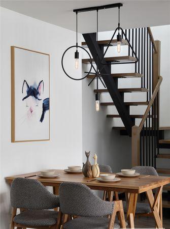 140平米四室三厅北欧风格餐厅装修案例