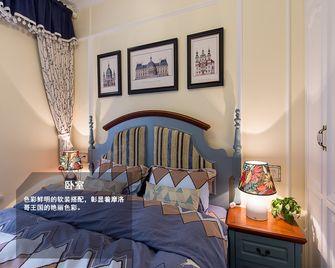90平米地中海风格卧室装修图片大全