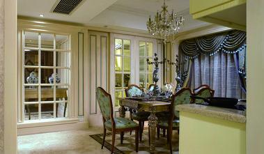140平米复式法式风格餐厅图片