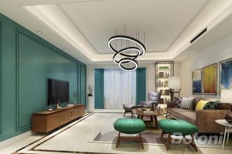 140平米四室两厅欧式风格客厅装修图片大全
