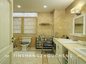 140平米別墅法式風格衛生間圖片