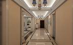 130平米四室四厅欧式风格走廊欣赏图