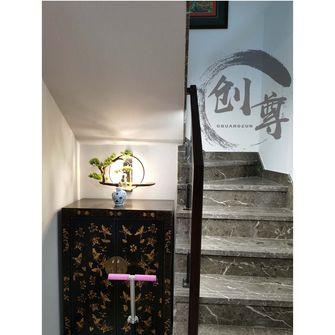120平米三室两厅中式风格楼梯间装修效果图