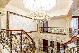 豪华型140平米别墅欧式风格楼梯装修案例