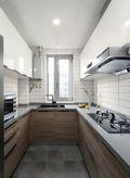 110平米三室五厅日式风格厨房图