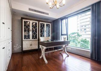 140平米三室两厅美式风格书房装修效果图