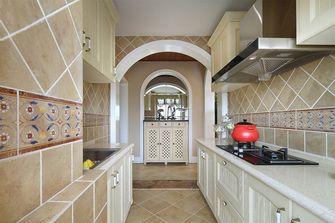 80平米田园风格厨房设计图