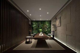 140平米三室一厅现代简约风格书房装修案例