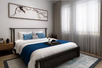 100平米公寓中式风格卧室装修效果图