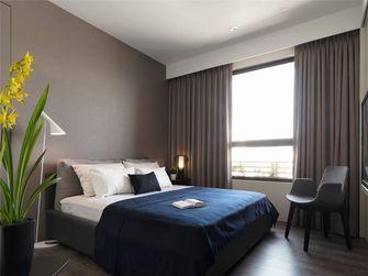 70平米公寓英伦风格卧室装修案例