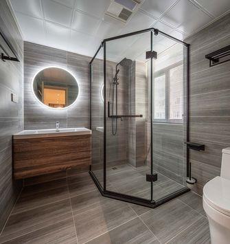 140平米四室一厅日式风格卫生间欣赏图