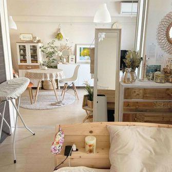80平米一室一厅田园风格客厅欣赏图