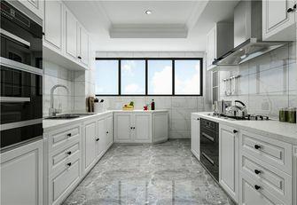 140平米四室三厅美式风格厨房设计图