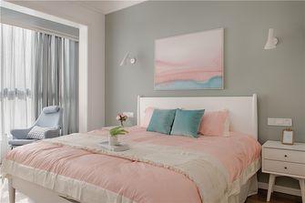 80平米一居室北欧风格卧室效果图