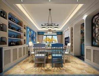 90平米三地中海风格餐厅装修图片大全