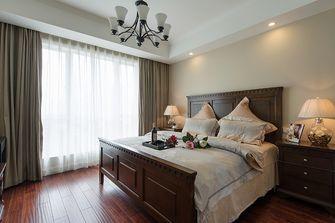 70平米一居室美式风格卧室图