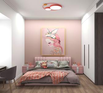 80平米三室两厅现代简约风格儿童房图片大全