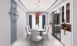 120平米三室三厅混搭风格餐厅图片大全