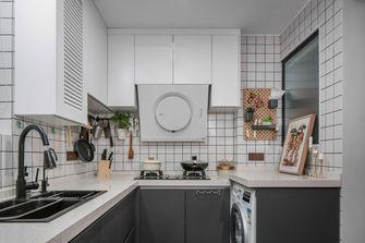 90平米公寓新古典风格厨房效果图