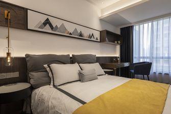 130平米三室两厅地中海风格卧室图片大全