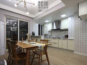 120平米三室兩廳混搭風格餐廳圖片