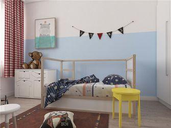 富裕型120平米三室两厅英伦风格儿童房图片