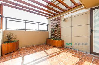 140平米四室三厅中式风格阳台图