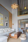 110平米三室三厅日式风格客厅效果图