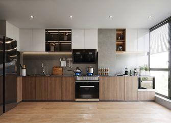 130平米三室两厅英伦风格厨房装修图片大全