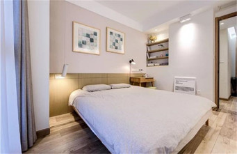 100平米三北欧风格卧室欣赏图