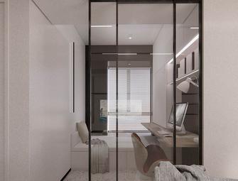 80平米三室两厅现代简约风格书房图片