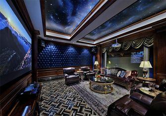 140平米四室三厅欧式风格影音室图