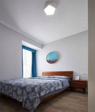 100平米三室一厅北欧风格卧室图片大全