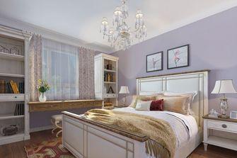 经济型110平米一室两厅地中海风格卧室装修图片大全