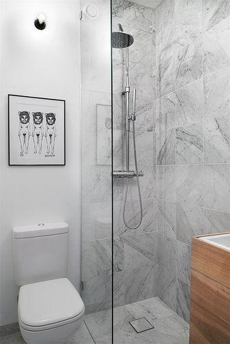 70平米一室一厅北欧风格卫生间设计图