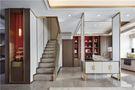 120平米四室两厅现代简约风格楼梯间图片大全
