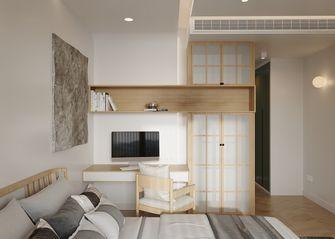 130平米三日式风格卧室装修效果图