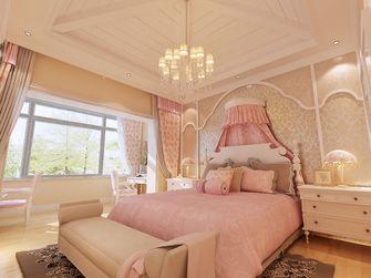 140平米别墅田园风格卧室图