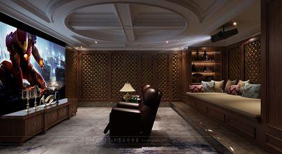 140平米别墅新古典风格影音室装修效果图