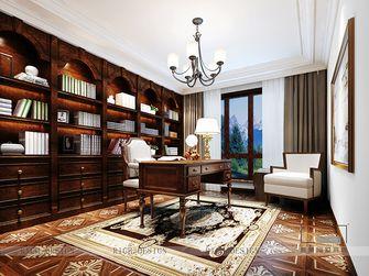 140平米别墅东南亚风格书房图