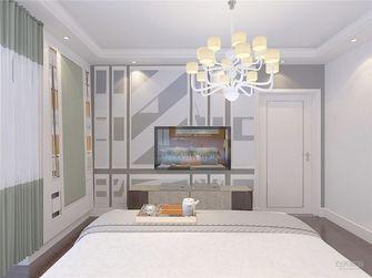 100平米公寓现代简约风格卧室背景墙效果图
