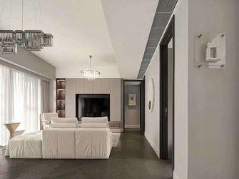 110平米三室一厅现代简约风格客厅效果图