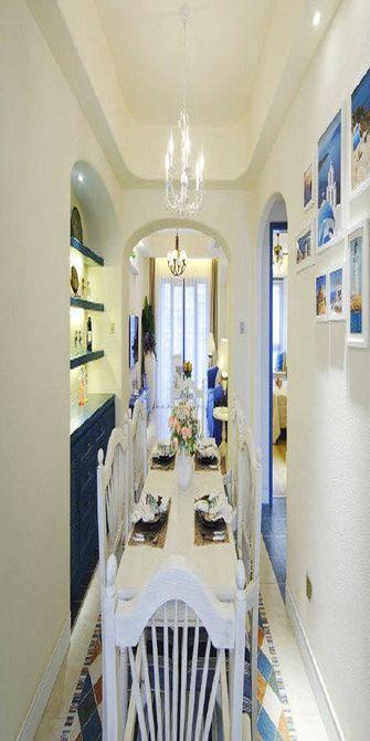 100平米四室一厅地中海风格餐厅装修效果图