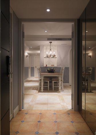 110平米三室两厅田园风格玄关欣赏图