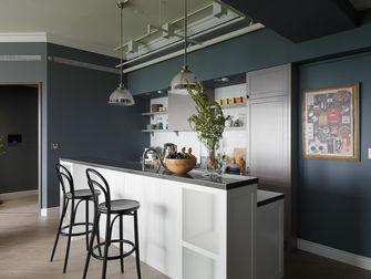 120平米三室两厅英伦风格厨房装修案例