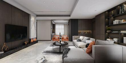 豪华型140平米三现代简约风格客厅效果图