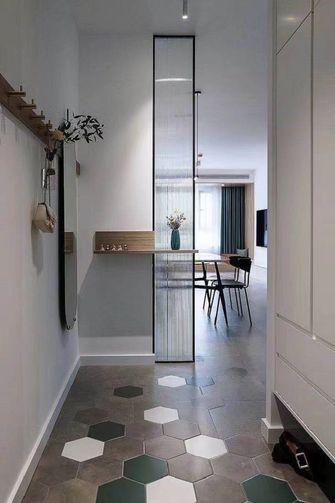 80平米三室两厅欧式风格走廊装修效果图