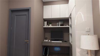 90平米三室两厅混搭风格书房装修案例