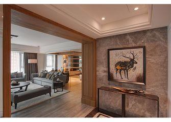 140平米三室两厅新古典风格玄关图片