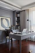 140平米四室两厅法式风格书房图片